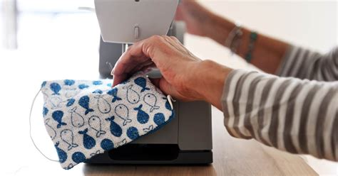 face mask  fabric    sewing