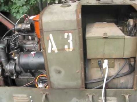 generator hobart brothers hercules engine  wwii