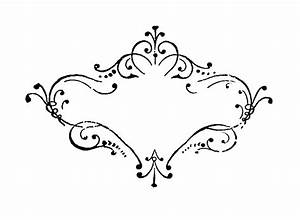 Digital Stamp Design: Free Digital Damask Fancy Frame ...
