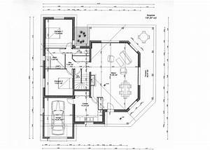 cuisine plans et photos de maisons modernes jpg plan de With plan maison contemporaine toit plat gratuit