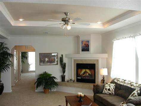 family room tray ceiling decorating ideas Google Search