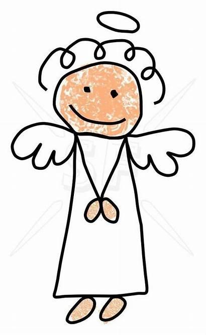 Clipart Clip Stick Engel Angel Zeichnen Figures