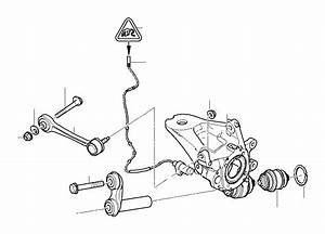 Bmw X5 Guiding Suspension Link  Rear  Axle