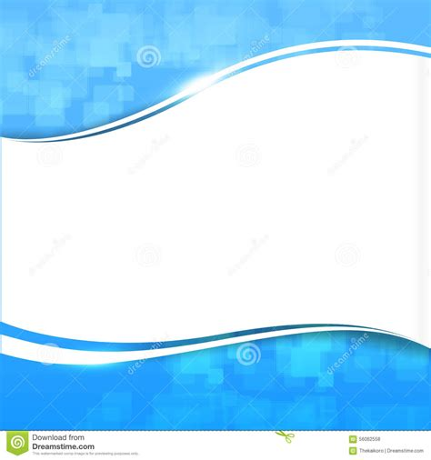 abstract background blue wave curve and lighting element vector stock vector image 56062558