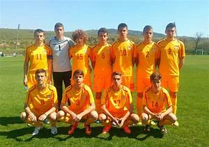 The Macedonian U15 team defeated by Hungary with 1 - 0 ...