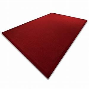 Tapis En Sisal : tapis de salon sisal naturel 3 tailles rouge ~ Teatrodelosmanantiales.com Idées de Décoration