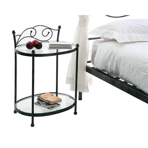 table de chevet fer forge table de nuit baroque m 233 tal venezia achat vente chevet table de nuit baroque