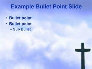 Cross PowerPoint Template