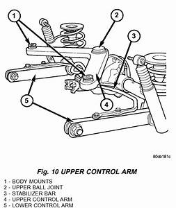 Jeep Liberty  Rear Suspension  A Small Diagram Of Parts