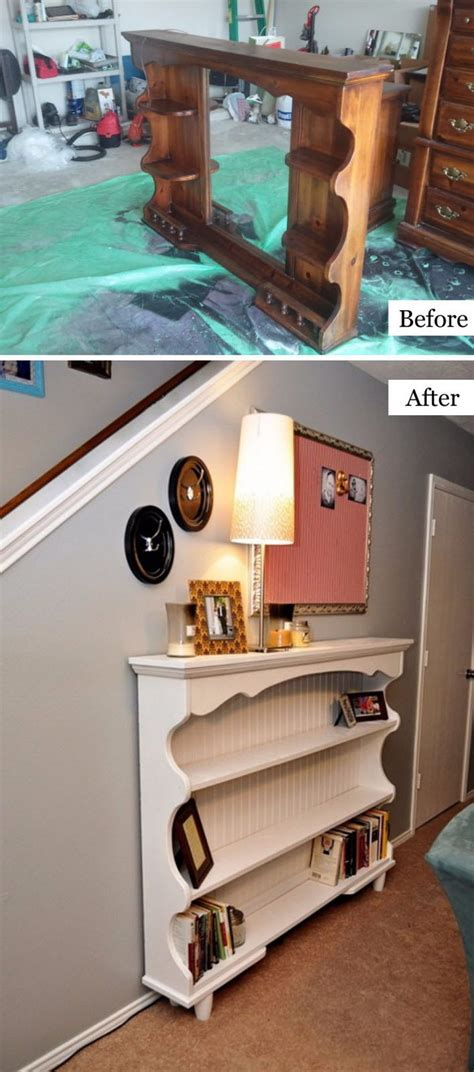 shelf that turns into a table 40 awesome makeovers clever ways with tutorials to
