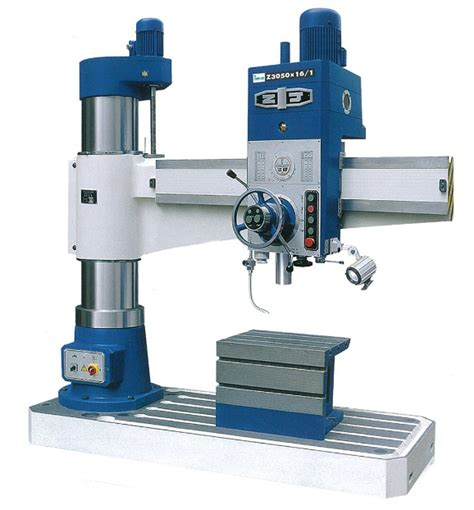 romac  series radial drilling machine