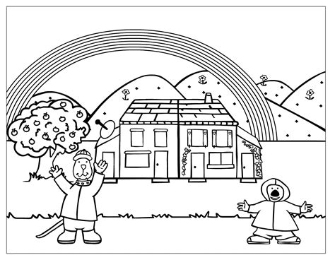 Rainbow Coloring Pages Cool coloring pages Fairy