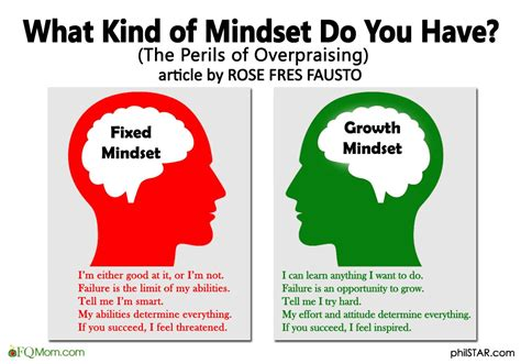 What Kind Of Mindset Do You Have? (the Perils Of