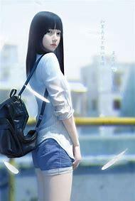 3D Digital Art Anime Girls