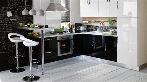 cuisine noir pas cher cuisine noir laqué pas cher