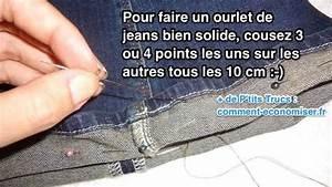 Faire Ourlet Jean : comment faire un ourlet de jeans solide sans machine coudre ~ Melissatoandfro.com Idées de Décoration