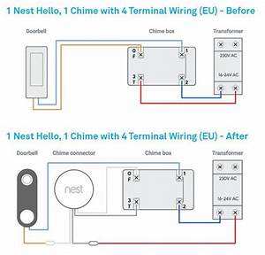 Nest Hello Wiring Diagram Without Chime In 2020