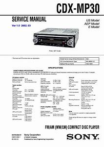 Sony Xplod Cdx Gt250mp Wiring Diagram