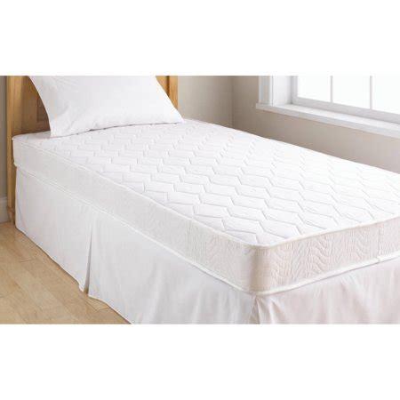 walmart size mattress mainstays 6 quot coil mattress sizes walmart