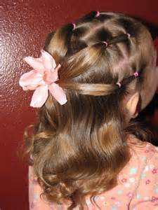 Cute Ponytail Hairstyles for Little Girls