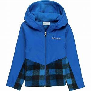 Boys Columbia Jacket Size Chart Columbia Steens Mt Overlay Hooded Fleece Jacket Toddler