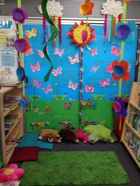 corner display the reading garden lou classroom