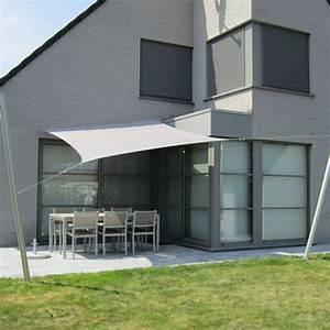 Vue sur cour voile d39ombrage design pour terrasse vue for Idee amenagement jardin rectangulaire 9 vue sur cour voile dombrage design pour terrasse vue