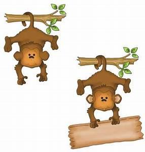 CottageCutz Hanging Monkey 4x6 Die ~ Save 15% - Buy Now!