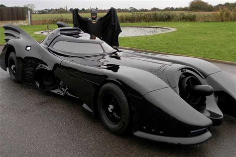 batman real car batmobile with working flamethrower goes up for sale