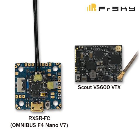 frsky scout vs600 vtx and rxsr fc omnibus f4 nano v7 20mm spacing flight controller