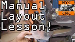 Manual Sheet Metal Layout Lesson
