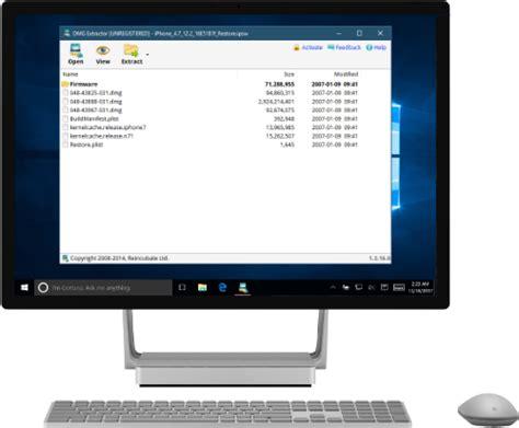 dmg extractor extract  read mac dmg files  windows
