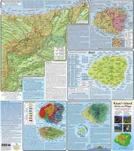Kauai Island Hawaii Map