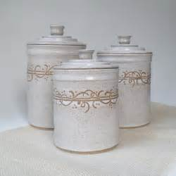 ceramic kitchen canister white kitchen canisters set of 3 made to order storage and