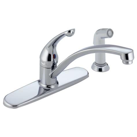 single handle kitchen faucet  wf delta faucet