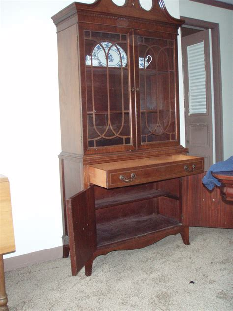 pictures of china cabinets vintage mahogany china cabinet for sale antiques com