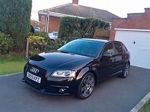Audi A3 S Line : brilliant black 2009 audi a3 s line sportback black ~ Dode.kayakingforconservation.com Idées de Décoration