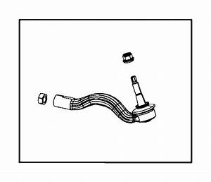 Dodge Durango Steering Tie Rod End  Right  Outer  Front