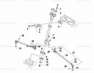 Arctic Cat Atv 2012 Oem Parts Diagram For Steering