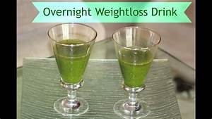 Overnight Weight Loss Drink Belly Fat Burner