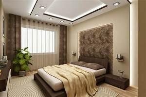 le faux plafond suspendu est une deco pratique pour l With plafond chambre a coucher