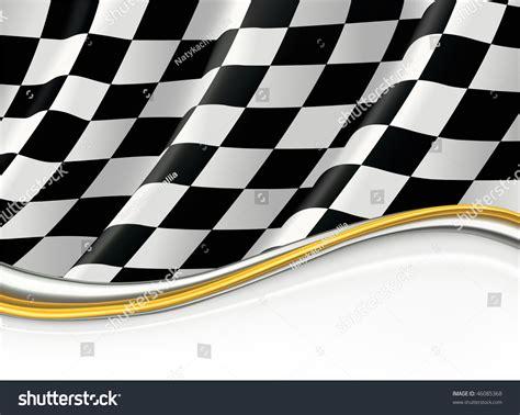 checkered flag vector background stock vector