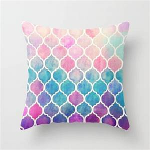 Rainbow Paste; Throw Pillow Cover from Micklyn - Wild Apple