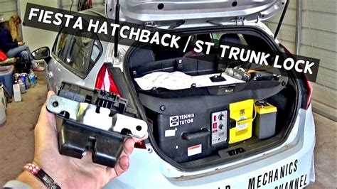 Ford Ka Wiring Diagram Boot Release by Ford St Hatchback Lock Trunk Lock Removal