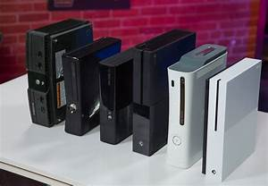 All Xbox consoles, side by side : gaming