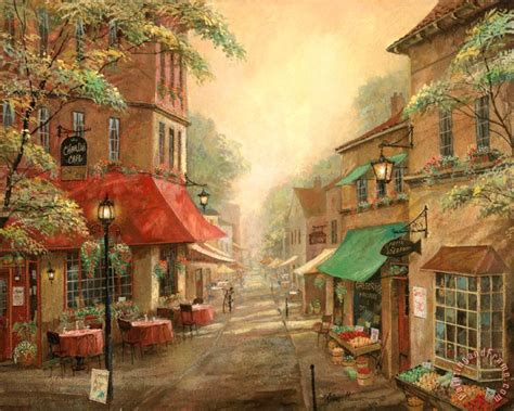 Ruane Manning Charlie S Cafe Painting