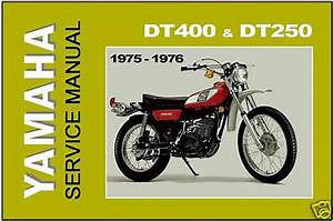 Buy Yamaha Workshop Manual Dt400 Dt250 1975 1976 Dt400b