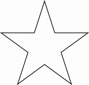 Star Outline | New Calendar Template Site