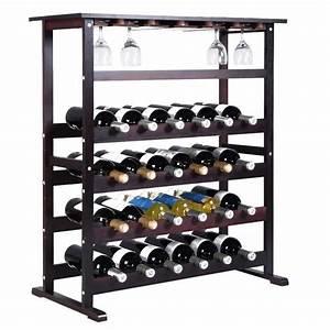 Casier à Bouteilles : tag re vin range bouteille casier vin porte bouteille 24 bouteilles support achat vente ~ Teatrodelosmanantiales.com Idées de Décoration