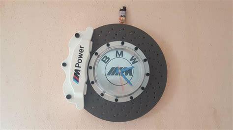 Bmw M Power Wall Clock Brake Disc